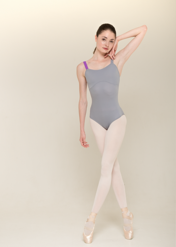 Strap Leotard l grey - NISARAT